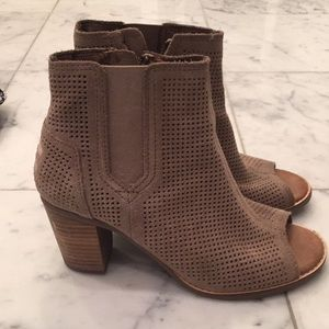 TOMS Shoes perforated bootie